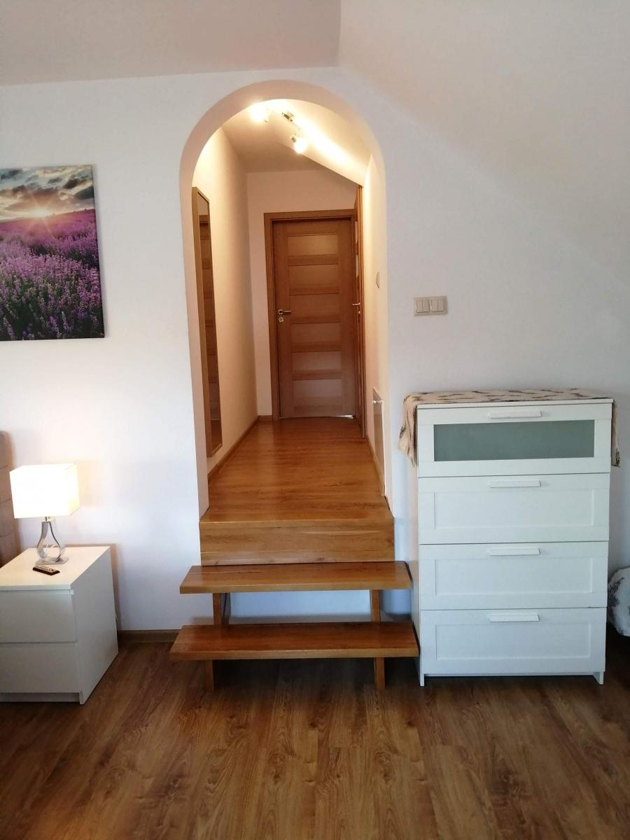 Corridor in the Lavender apartment