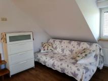 Drugie łóżko w apartamencie Lawendowym